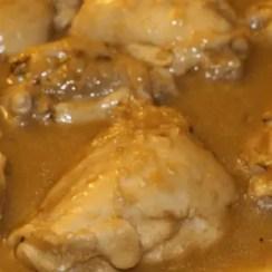 pechuga de pollo a la cerveza - Pollo a la cerveza con Thermomix