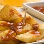 patatas bravas - Albondigas de queso