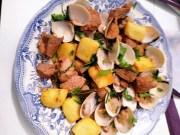 carne de cerdo con almejas - Carne de cerdo con almejas a la portuguesa