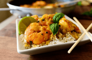 curry de gambas3 - Gambas al curry con Thermomix