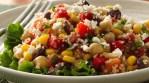 Plato vegetariano con quinoa y verduras