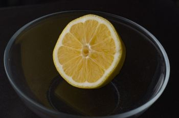 limonada - Refresco de limonada o agua con limón