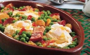 guisantes con huevo - Entrantes con Thermomix
