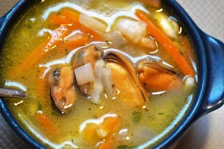 sopa de pescado thermomix - Sopa de pescado