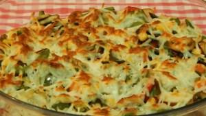 gratinado de verdura - Recetas de entradas tradicionales