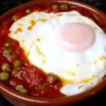 huevos en cazuela - Recetario (A-Z)