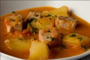 marmitako de bonito - Recetas tradicionales de pescados y mariscos