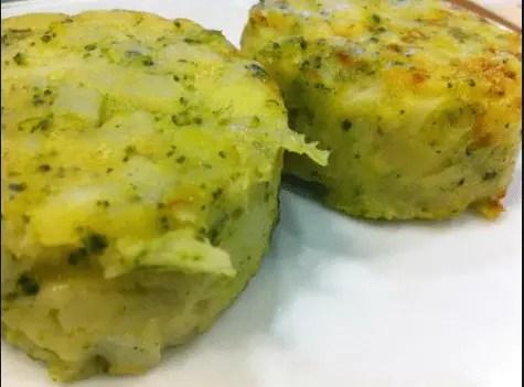 medallones patata y brocoli de Ikea - Postre serradura de Portugal