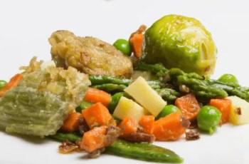 tortilla de menestra de verduras - Tortilla de menestra de verduras con queso