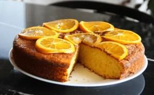 bizcocho de naranja - Tartas y bizcochos
