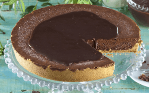 tarta mousse de chocolate - Postres