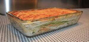lasaña de calabacin - Pasta