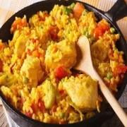 paella de pollo con verduras Thermomix1 - Thermomix Valencia - paella de pollo