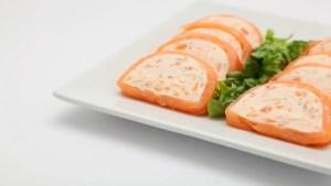 pastel de salmon ahumado 1 - Pescado