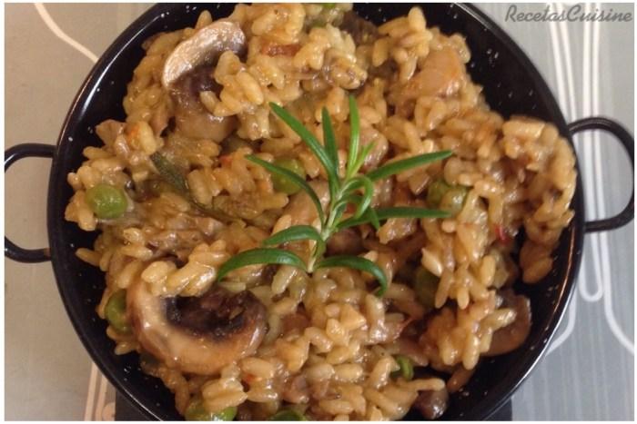 arroz-con-setas-y-romero