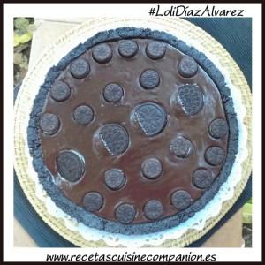 tarta de oreco y chocolate