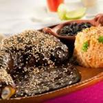 Típica receta mexicana de Mole poblano