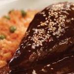 Receta casera de Pollo con Mole
