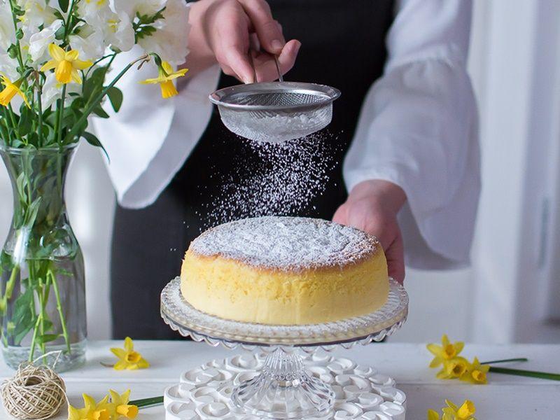 Cheesecake de tres ingredientes
