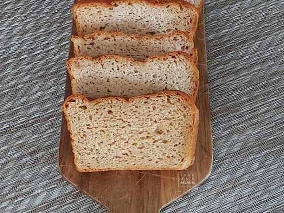 pan de molde integral sin gluten