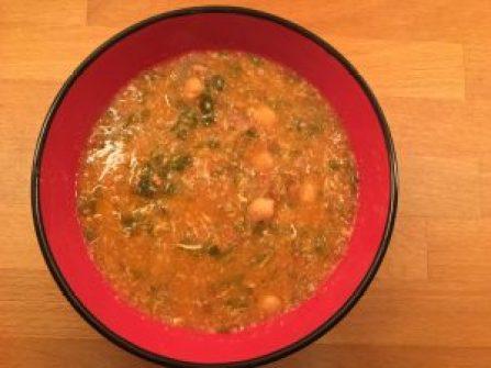 Receta de harira, sopa marriquí deliciosa y fácil