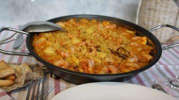 Cómo hacer un arroz a banda muy fácil