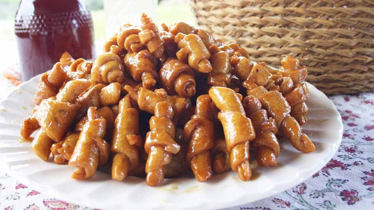 Pestiños caseros con miel... ¡LOS DE MI ABUELO!
