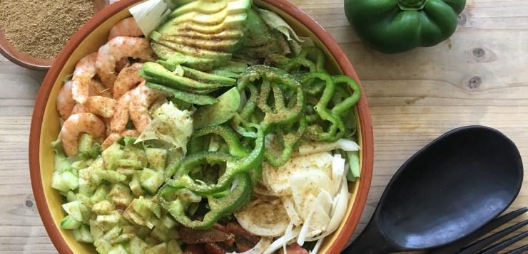 Cómo hacer una ensalada tanzana, típica deTanzania