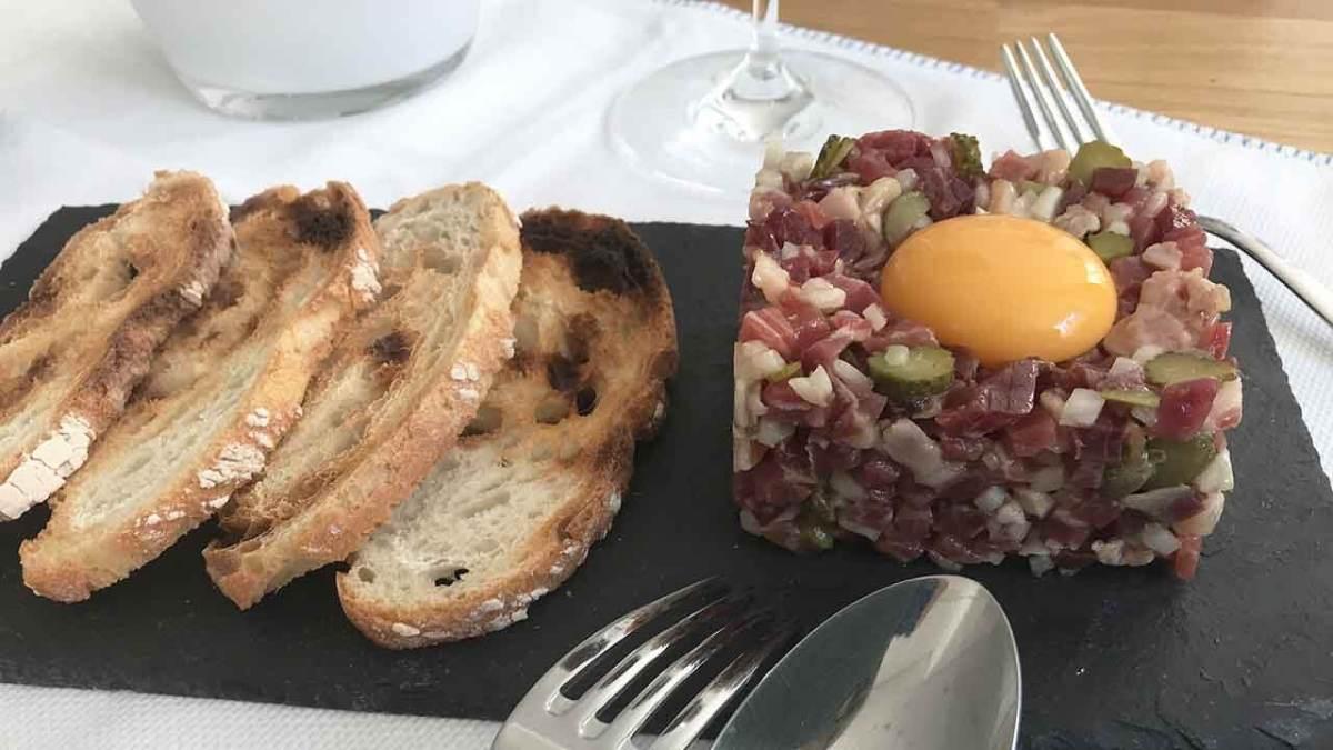 Tartar de jamón ibérico - TARTAR IBÉRICO