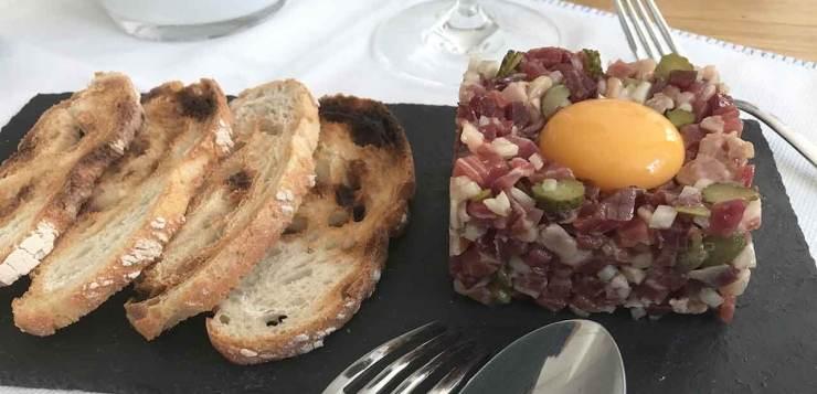Tartar de jamón ibérico – TARTAR IBÉRICO