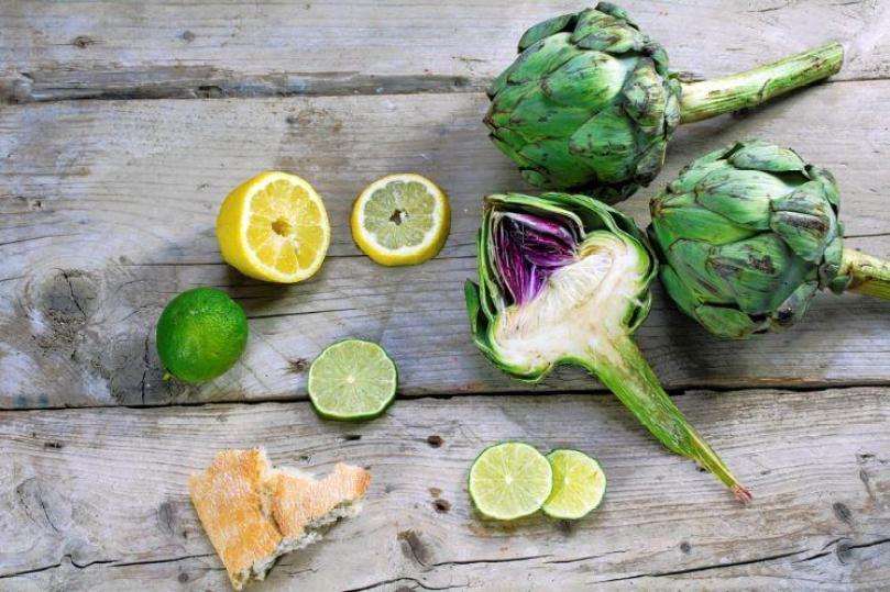 dieta de la alcachofa