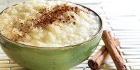 arroz con leche y cacao