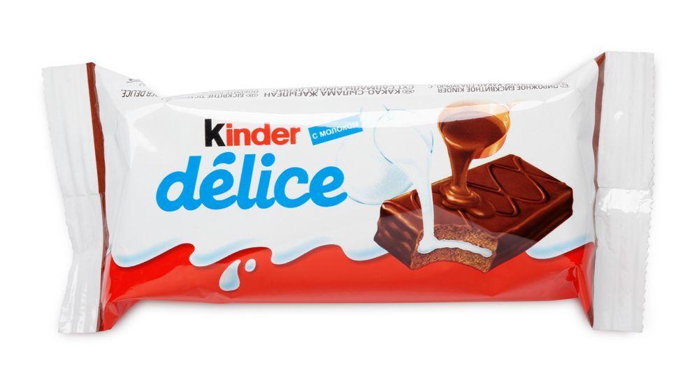 kinder delice fitness