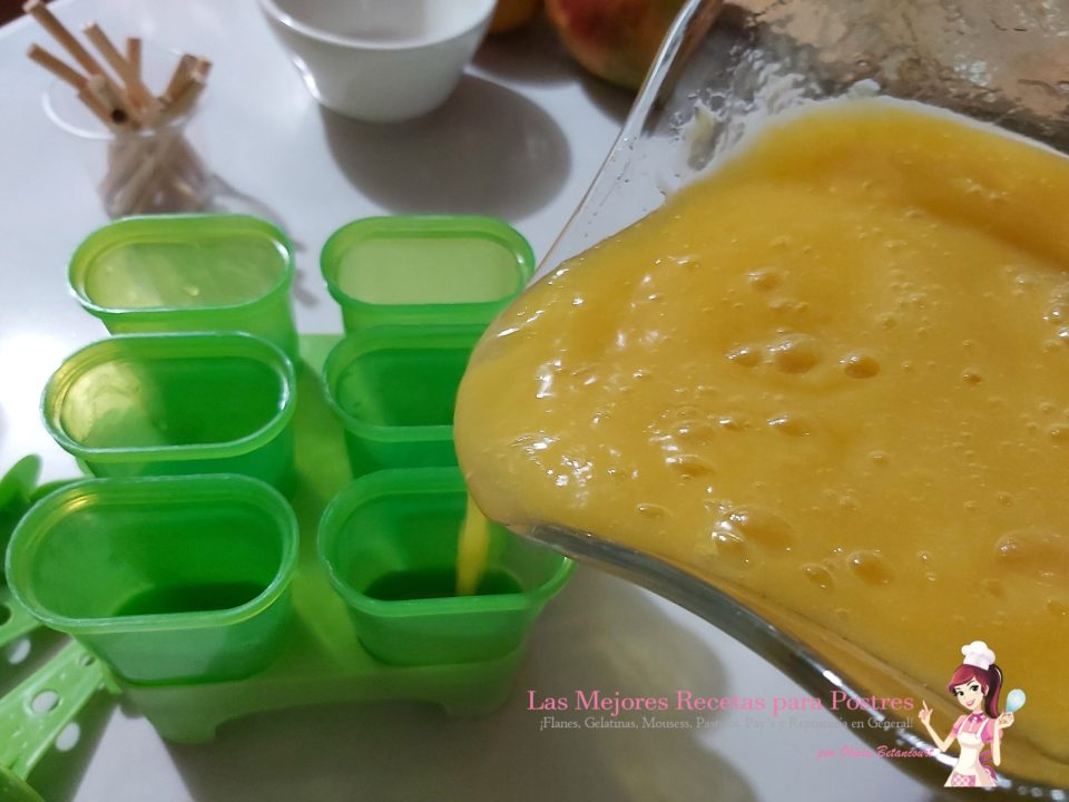 Paletas de mango