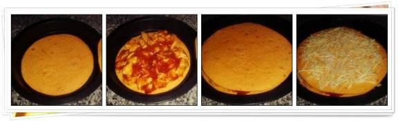 Pasos para hacer enchilada