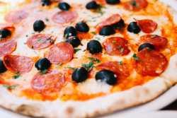 Pizza casera y masa para pizza