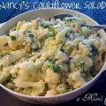 ensalada de coliflor y huevos