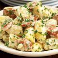 ensalada de salsichas