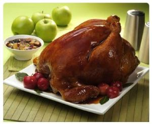 Receta Pollo Relleno de Navidad