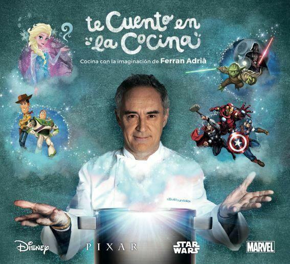 Te Cuento en la Cocina, Libro para Niños de Ferran Adriá