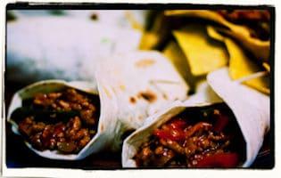 Burritos de carne