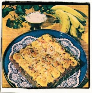Pastel de banano