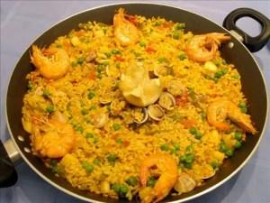 receta de arroz a la marinera