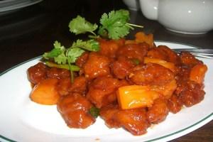 receta de pollo agridulce