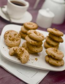 galletas con cacahuate