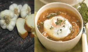 original sopa de ajos