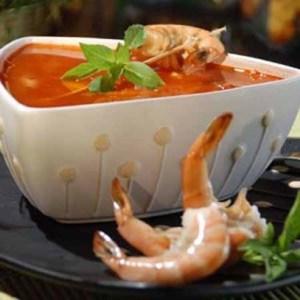 receta de camarones a la vizcaina