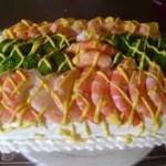 Pastel de camarones