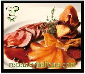 receta de pato de mar en salsa de higado