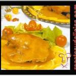 Receta de Pollos en naranja de china